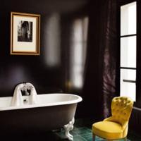 Bruine badkamer ontwerpen