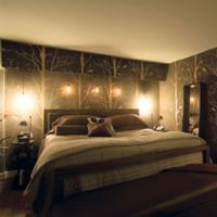 Bruine vloerbedekking voor de slaapkamer